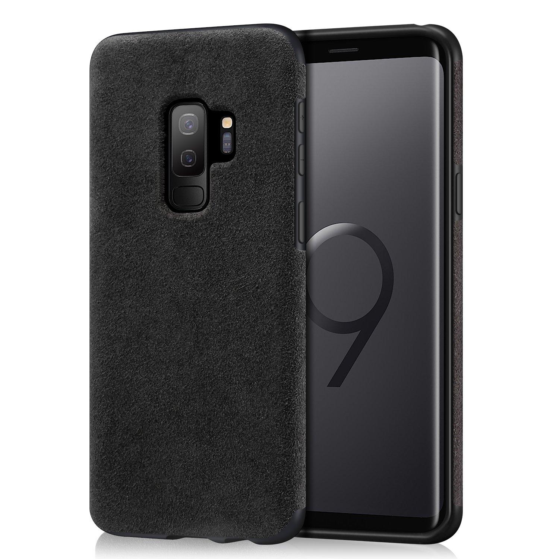 check out e5e7a 62395 Mthinkor Samsung Galaxy S9 Plus Case Slim Case Made of Alcantara Material  Compatible with Samsung Galaxy S9 Plus (Black)