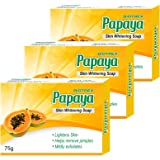Biotrex Nutraceuticals Papaya Skin Whitening Soap, 75g (Pack of 3)