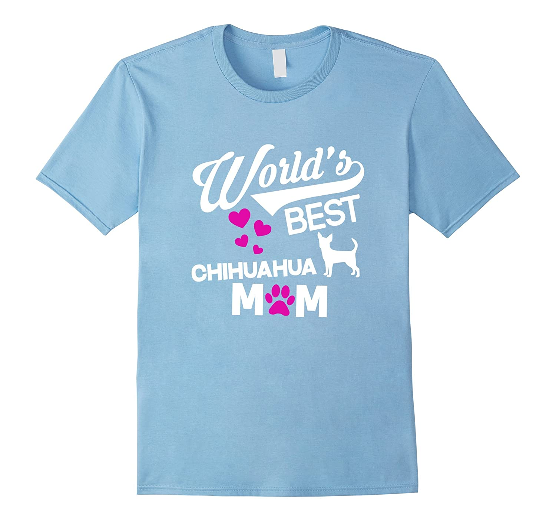 Chihuahua Mom Graphic Tee-BN