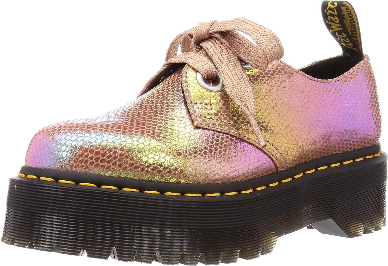 dr martens holly ribbon flatform shoes