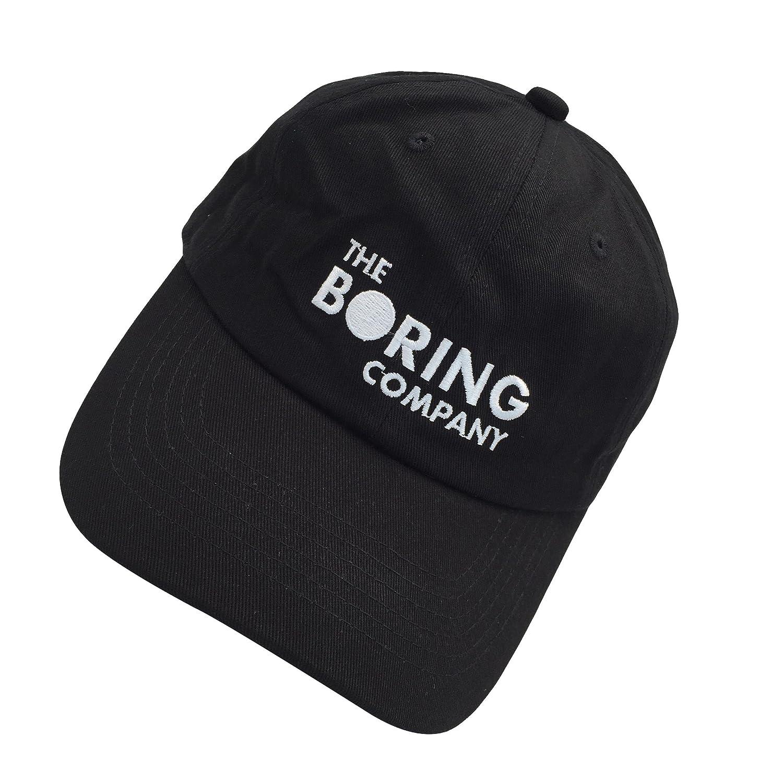 b72703ef2bd2a Amazon.com  binbin lin The Boring Company Cap Spacex Hat Dad Hat Baseball  Cap Mens Dad Hat for Men Black  Clothing