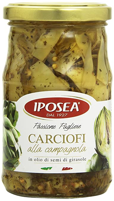 3 opinioni per Iposea- Carciofi alla Campagnola, in Olio di Semi di Girasole, 290 g