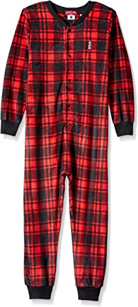 Comfy Cute and Cozy Softness Petit Lem Kids Little Holiday Unisex Hooded Robe