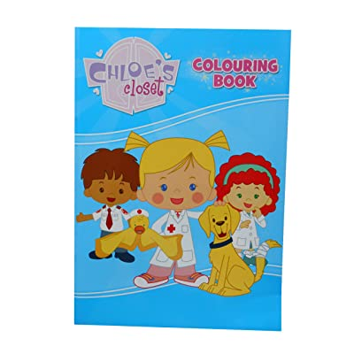 Alligator Books Chloe's Closet Colouring Book: Toys & Games