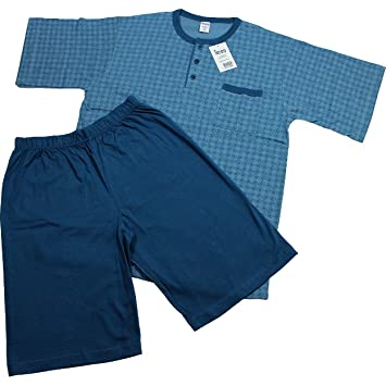 Oferta pijamas de hombre Teseo medida 5/L/50 de manga corta algodón 804488