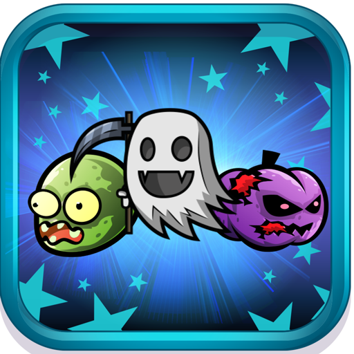 Halloween Strange Monster Night - draw line Match game for Dr.Ghost -