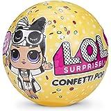BAYSHORELLP L.O.L. Surprise Confetti Pop-Series 3 Collectible Dolls, (Yellow)