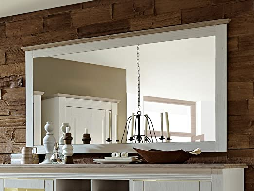 Spiegel Wandspiegel Wohnzimmerspiegel Holzspiegel Esszimmerspiegel