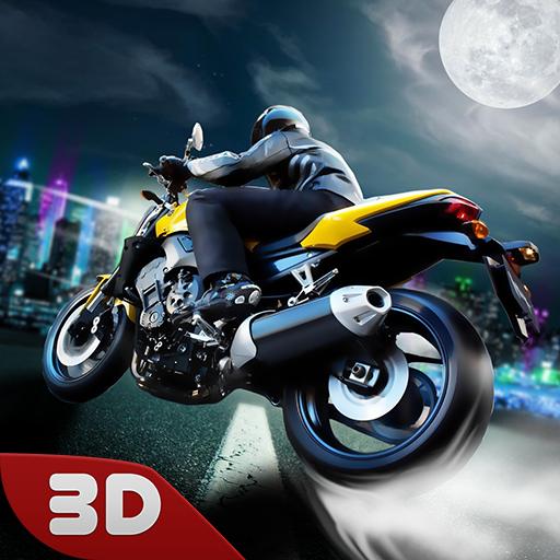 - Highway Motor Rider: Bike Mayhem | Burning Wheel Night City Drag Driving Missions
