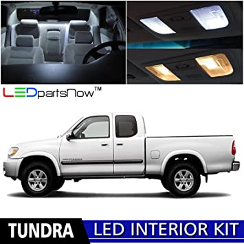 Amazon ledpartsnow 2000 2006 toyota tundra led interior lights ledpartsnow 2000 2006 toyota tundra led interior lights accessories replacement package kit 15 pieces publicscrutiny Image collections