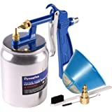 Dynastus K-Style Air Suction Feed Siphon Spray Gun for Spraying Oil-Based or Latex Paints, with Filtering and Cleaning…