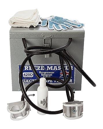 Freeze Master 420d-110 V 8 - 42 mm 110 V eléctrico Tubo Congelador ...