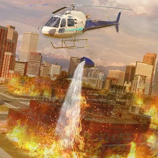 City Helicopter 911 Rescue Simulator- Air Ambulance Flying Games for Kids FREE ()