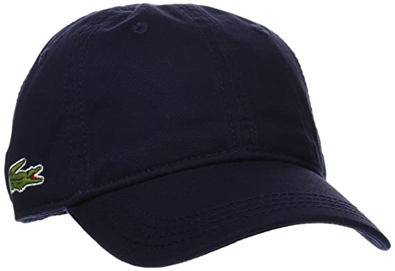 cfe18408b0 Lacoste RK3106 Casquette, Bleu (Marine), Small (Taille Fabricant : 2/