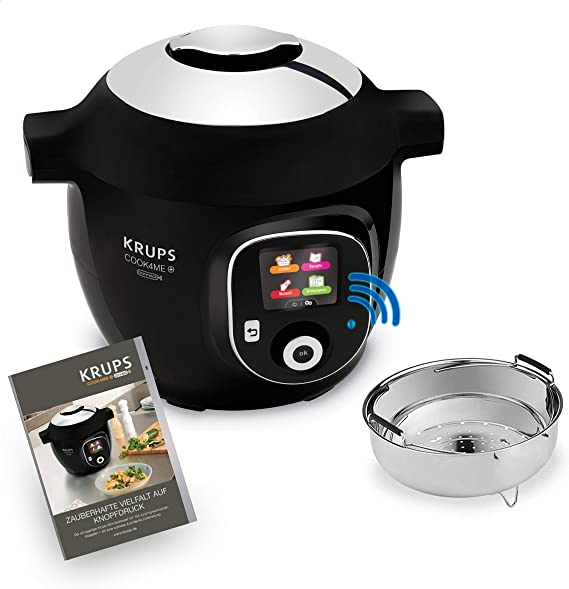 Krups - Robot de cocina Cook4Me+ Connect. Negro: Amazon.es: Hogar