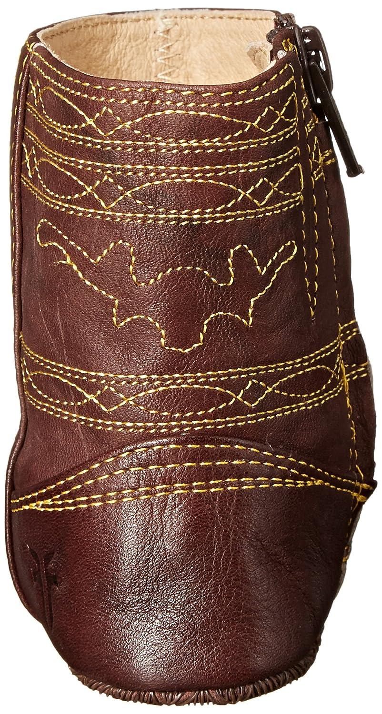 FRYE Campus Stitching Horse Crib Shoe (Infant/Toddler), Walnut, 1 M US Infant