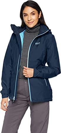 Jack Wolfskin Women's Karelia Trail Waterproof Insulated Rain Jacket