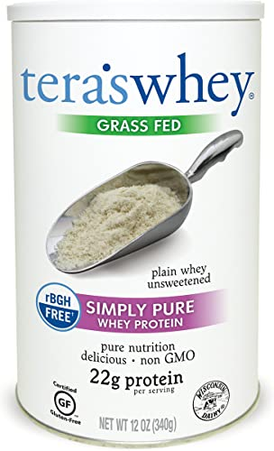 Tera s Whey Protein, Plain Unsweetened, 12 oz