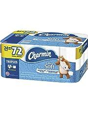 Charmin Ultra Soft Toilet Paper, 24 Triple Rolls = 72 Regular Rolls