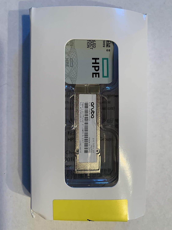 HP J9150D Aruba - SFP+ transceiver module - 10 GigE - 10GBase-SR - SFP+ / LC multi-mode - up to 984 ft - for HPE Aruba 2540 48, 2920, 2930M 24, 2930M