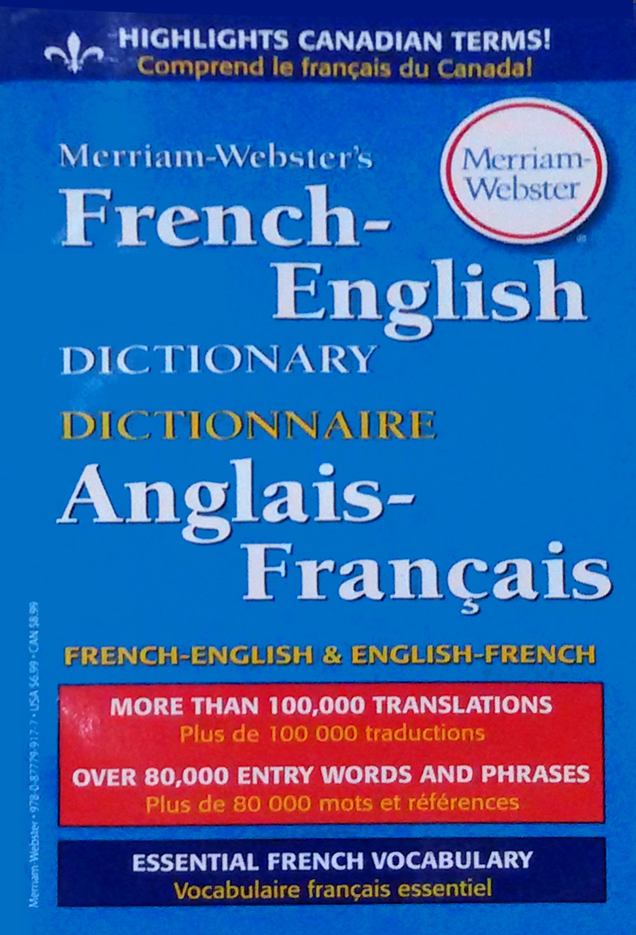 Amazon.fr - Merriam-Webster's French-English Dictionary - Merriam-Webster,  Eileen M Haraty - Livres