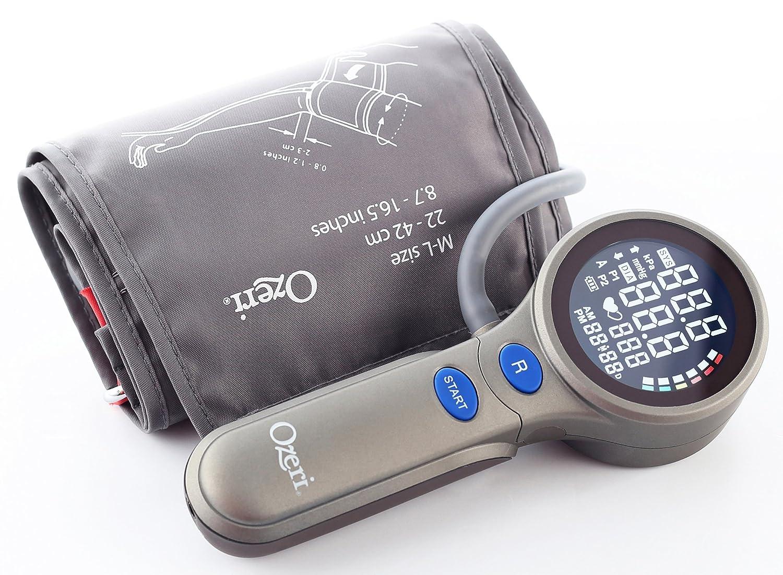 Ozeri BP8H - Tensiómetro de brazo superior con detección de hipertensión inteligente: Amazon.es: Salud y cuidado personal