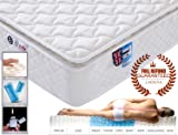 6FT Super King Size 9-Zone Memory Foam Mattress with Pocket Springs - Orthopaedic Mattress
