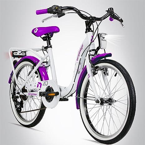 Bergsteiger Atlantis Bicicleta infantil de 20 pulgadas, adecuada ...