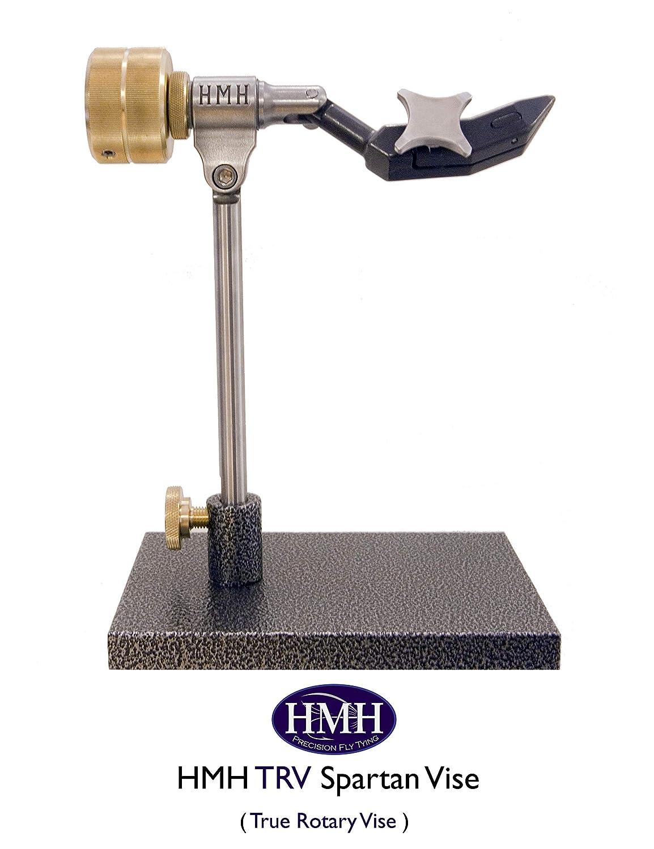 HMH TRV スパルタン フライタイイングバイス (トゥルーロータリーバイス/ペデスタルモデル) アメリカ製