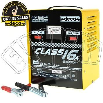 Deca 16 amperios cargador. 12-24v.: Amazon.es: Electrónica