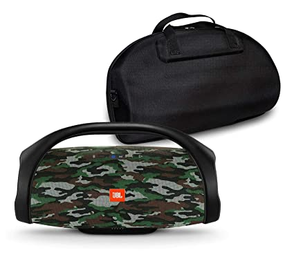 a1c4ad6ad96102 Amazon.com: JBL Boombox Portable Bluetooth Waterproof Speaker Bundle with  Hardshell Storage Case (Camouflage): Home Audio & Theater