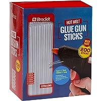 "MEGA PACK, EXTRA LONG: Hot Glue Sticks, Gun Refill Pack - 7mm X 150mm (9/32"" X 6"") - 200 Stks - Voor Hobby Hot Melt Glue…"