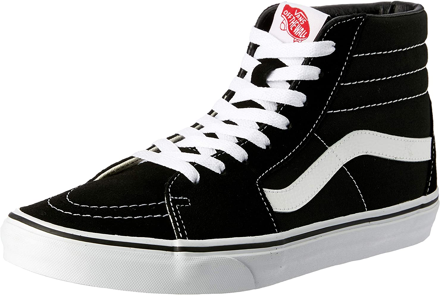 Vans SK8-HI Skate Sneakers Shoes Unisex Black high-Necked