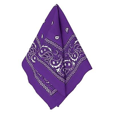 Amscan Bandana, Party Accessory, Purple: Clothing