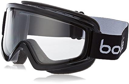 ec520bb0f0 Amazon.com : Bolle Freeze Shiny Clear Googles, Black, One Size ...
