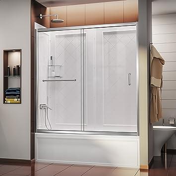DreamLine Infinity-Z 56 A 152,4 cm sin marco puerta corredera ...