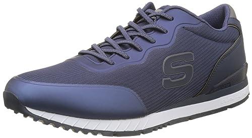 Equalizer Double Play - Zapatillas De Deporte para Exterior Hombre, Azul (Nvy), 42 EU Skechers