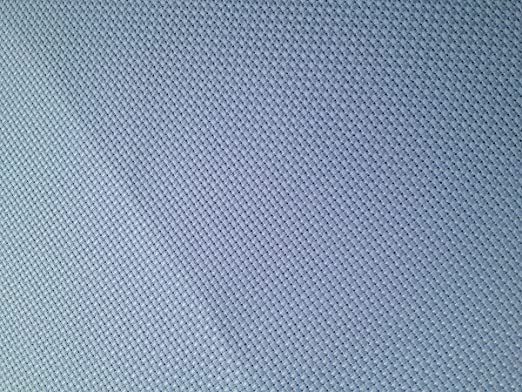 Tela aida de 14 agujeros para punto de cruz, 149 x 92 cm, algodón, color azul claro: Amazon.es: Hogar