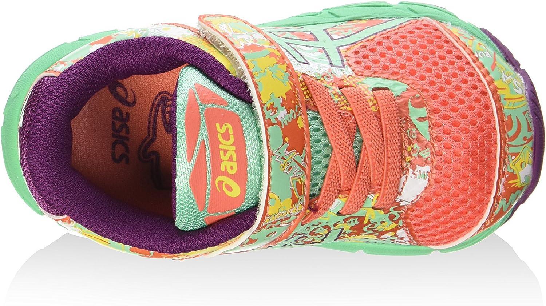 Asics Zapatillas Deportivas Noosa Tri 11 TS Naranja/Verde/Ciruela EU 23.5 (US K7): Amazon.es: Zapatos y complementos