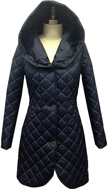 Amazon.com: Lark & Ro - Abrigo acolchado para mujer ...