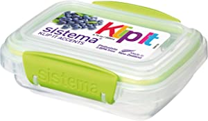 Sistema 200 ml Polyproplene Food Storage Container, Multi-Color [Kitchen & Home] updated