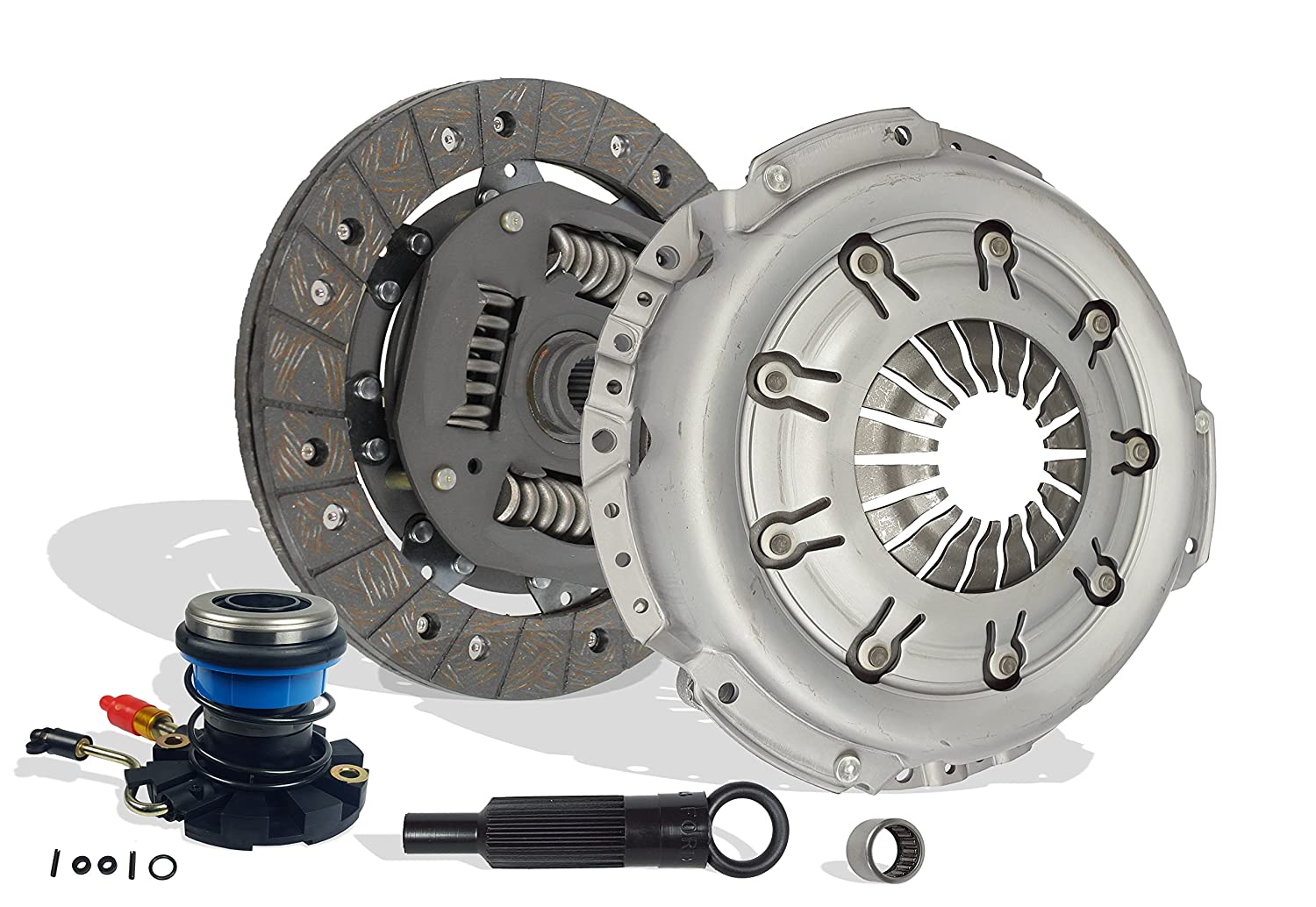 Clutch And Slave Kit Works With Ford Explorer Ranger Mazda Navajo B4000 Eddie Limited Postal Sport XL XLS XLT SE LE DX STX Troy Splash 1992-2000 4.0L V6 Gas SOHC OHV Naturally Apirated Southeast Clutch