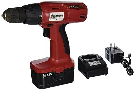 Amazon.com: hiltex 10542 18 V Cordless Drill Con Cargador Y ...