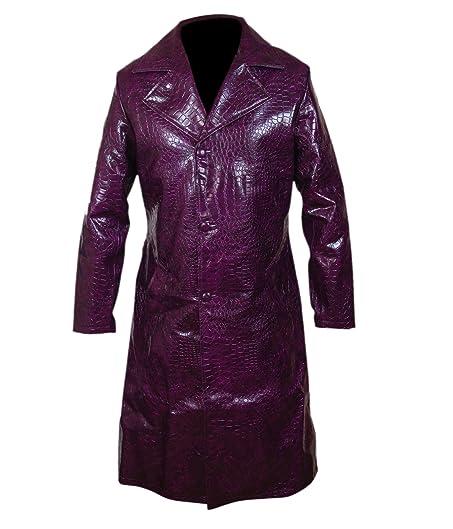 Amazon.com: F&H Boy's Suicide Squad Jared Leto Joker Purple Long ...