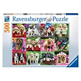 Ravensburger Puppy Pals Puzzle 500pc,Adult Puzzles