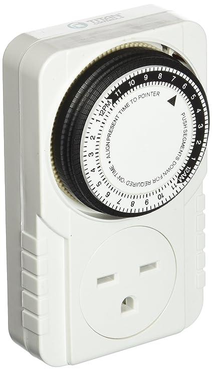 Amazon.com : Titan Controls Apollo 10 - 240 Volt Mechanical Timer : Garden & Outdoor