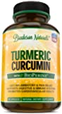 Turmeric Curcumin with BioPerine Anti Inflammatory – 60 capsules – Turmeric Root Extract, 95% Standardized Curcuminoids, Black Pepper Extract – Antioxidant & Joint Support