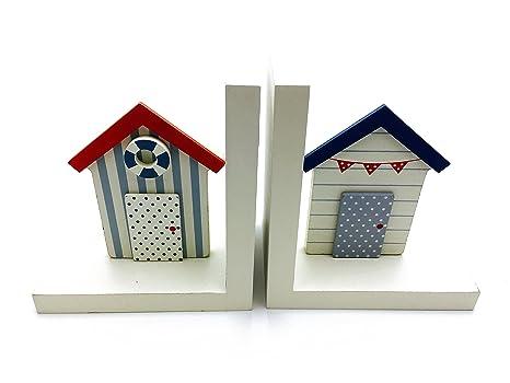 Nautical theme diseño de casetas de playa sujetalibros nuevo
