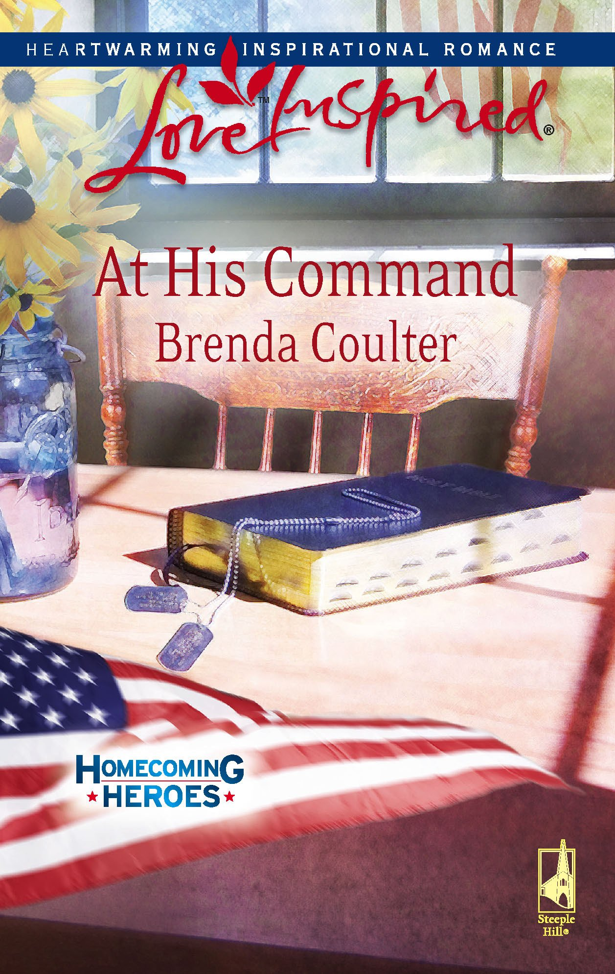 At His Command (Homecoming Heroes, Book 3) (Love Inspired #460) pdf