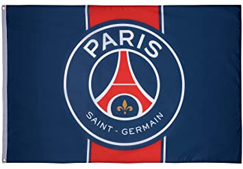 37e36dd69a103 PARIS SAINT GERMAIN Drapeau PSG - Collection officielle  Amazon.fr ...